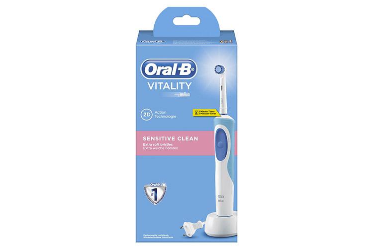 oral b brosse à dents électrique vitality sensitive clean avis