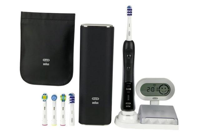 La brosse à dents électrique Oral-B Trizone 7000, offrez du luxe a votre bouche.