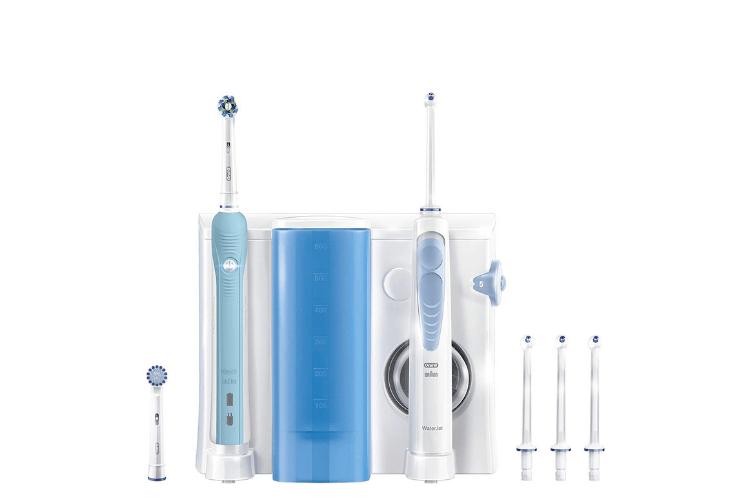 brosse-à-dent-électrique-avec-hydropulseur-combiné-dentaire-oral-b