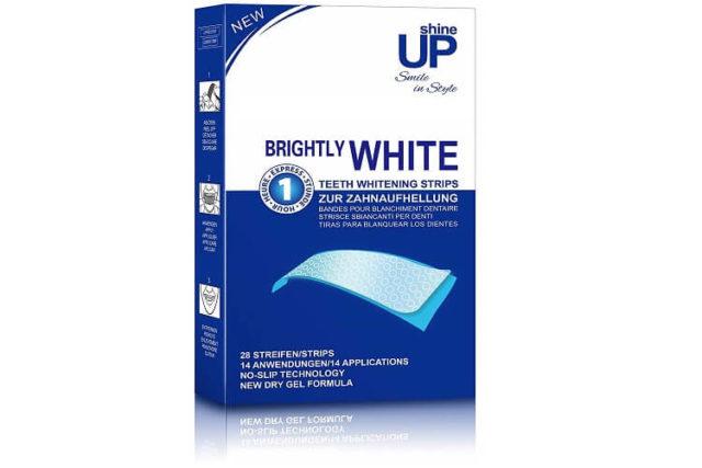 Bandes de blanchiment dentaire Shine Up, souriez avec classe!